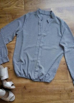 Блуза а горох