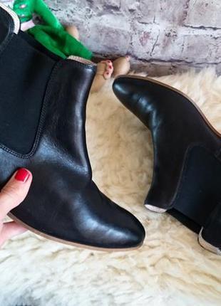 Ботинки челси vera pеlle из натуральной кожи.