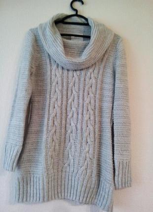 Удлененный свитер