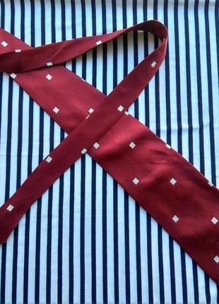 Шелковый дизайнерский галстук 100% шелк renato balestra , италия