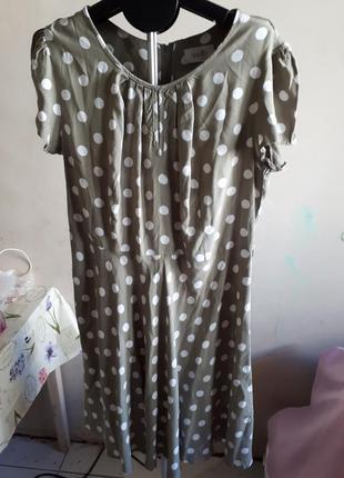 Стильное платье в горох wallis