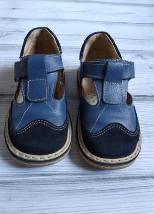 Ортопедические кожаные сандали р 25 по стельке 15см