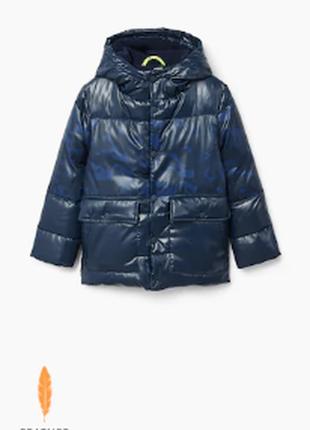 Куртка пуховик mango размер 152 и 164см