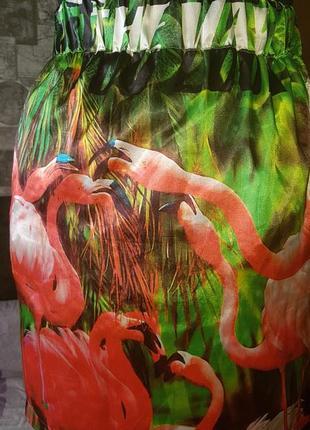 Юбка фламинго just cavalli