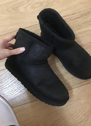 Черные, ugg угги, в идеале, короткие, оригинал