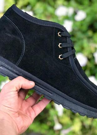 41 42 43 44 45 46 отличные мужские сапоги ботинки на зиму ugg mini black