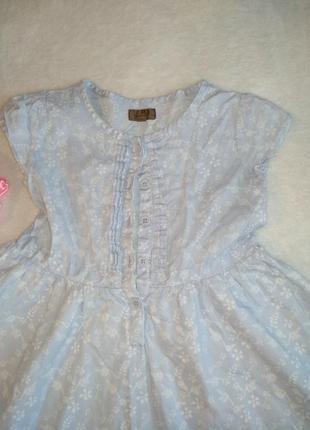 Нежное платье в цветочек2
