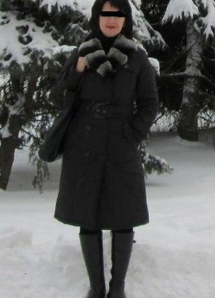 Зимнее пальто супер