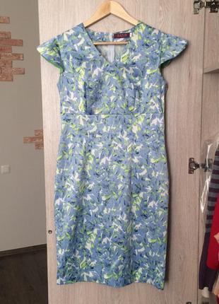 Классическое летнее платье