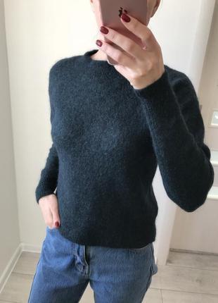 Скидка красивый сине-зелёный свитер