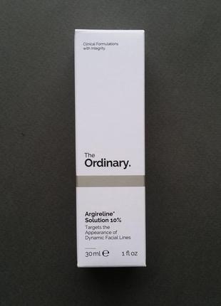Сыворотка для лица the ordinary argireline solution 10%