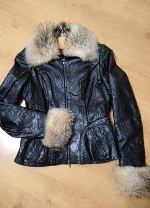 Куртка кожаная, косуха