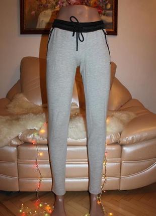 Теплые плотные леггинсы брюки с утяжкой adidas оригинал xs s m в наличии