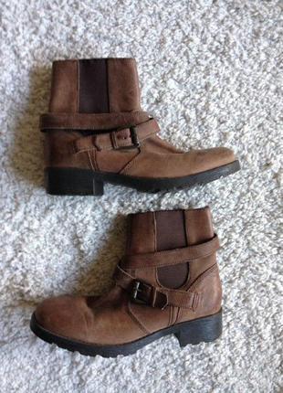 Ботинки из грубой кожи next