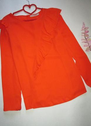Святкова блуза з волнами