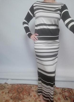 Платье длинное до пола
