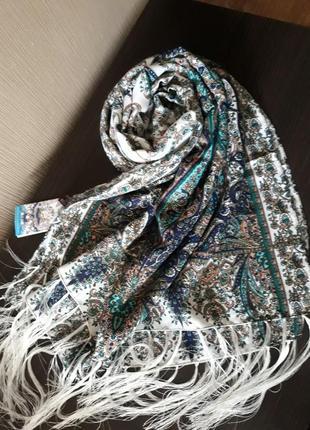 🎀шикарнейший шерстяной турецкий шарф шаль качество