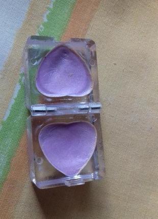 Лавандовые сиреневые двойные кремовые тени для век в форме сердца marks spencer