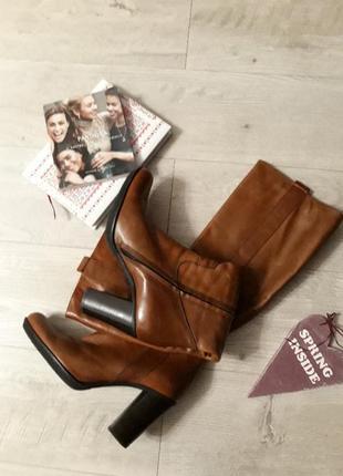 Шкіряні чоботи