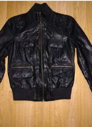 Кожаная курточка от zara, кожаная куртка, кожанка, косуха