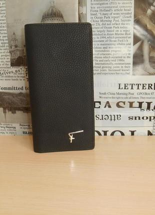 Кошелек, портмоне, бумажник salvatore ferragamo кожа, италия 62003
