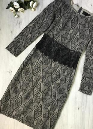 Фирменное платье миди barbara schwarzer, размер 36