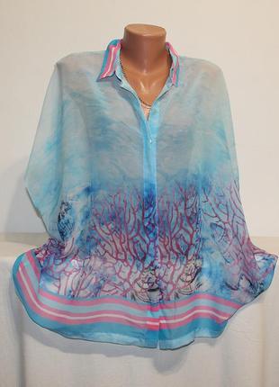 Легкая пляжная блуза
