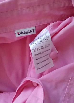 Рубашка от бренда damart. вторая вещь минус 50% скидка!5