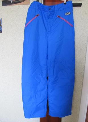 Зимние лыжные штаны 50/52