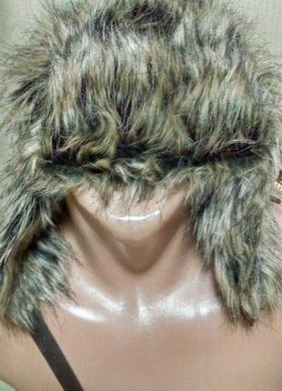 Актуальная теплая шапка ушанка