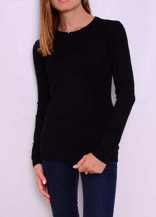 Классический пуловер из шерсти мериноса. италия