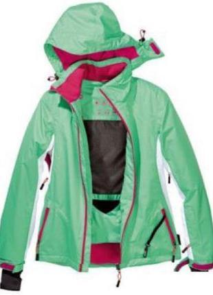 Мембранная лыжная термо куртка crivit sports, размеры 38, 40, 42, 44 евро