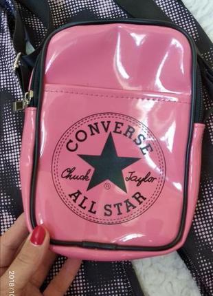 0b20c2851357 Фиолетовые женские сумки Converse 2019 - купить недорого вещи в ...