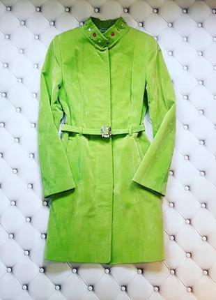 Шикарное велюровое пальто от natiso.