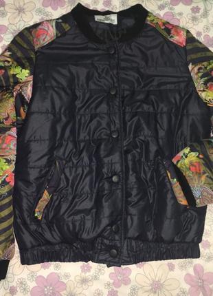 Оригинальная куртка бомбер