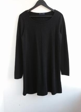 Кашемировое платье marks & spencer размер l xl оригинал