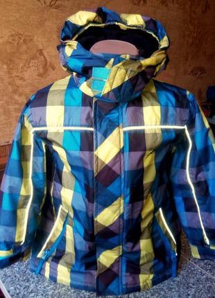 Лыжная куртка на мальчика итальянского бренда black jack outdoor casual