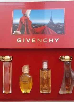 Редкий набор givenchy  organza,  indecence, amarige, hot couture