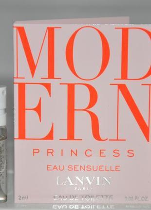 Lanvin modern princess eau sensuelle туалетная вода (пробники)