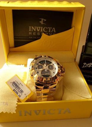 Invicta resrve excursion ,  swiss quartz