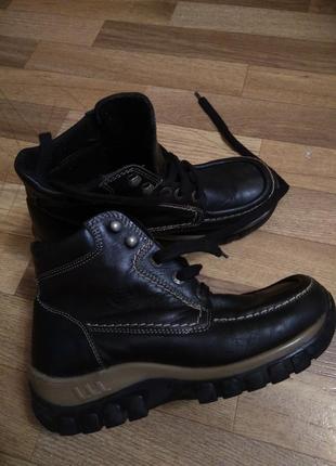 Ботинки осень утеплённые
