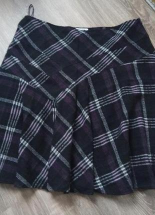 Теплая стильная юбка большой размер