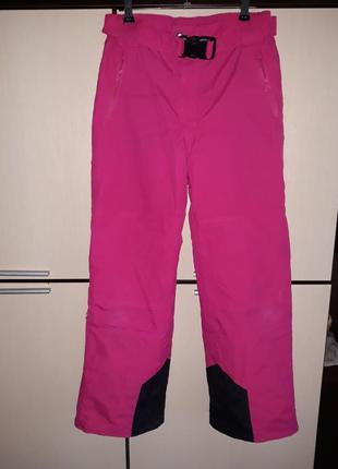 Зимние лыжные водонепроницаемые штаны 152