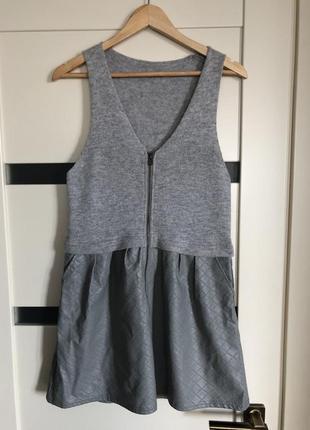 #разгружаюсь 🔥 весенне/осеннее теплое платье туника с нюансами