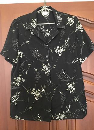 Блуза/ пог 50/ рубашка