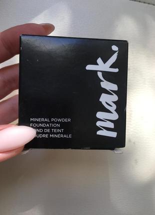Минеральная рассыпчатая пудра mark