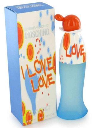 Moschino i love love туалетная вода 30 мл.