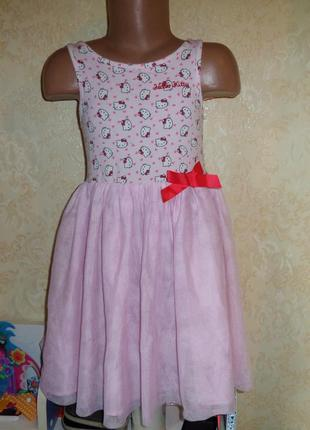 Платье h&m 4-5