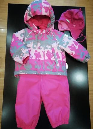 Зимний термо-костюм reima tec на девочку