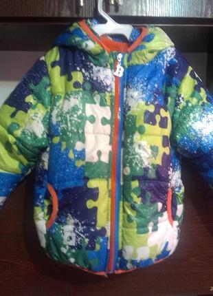 Зимняя куртка 3- 4г